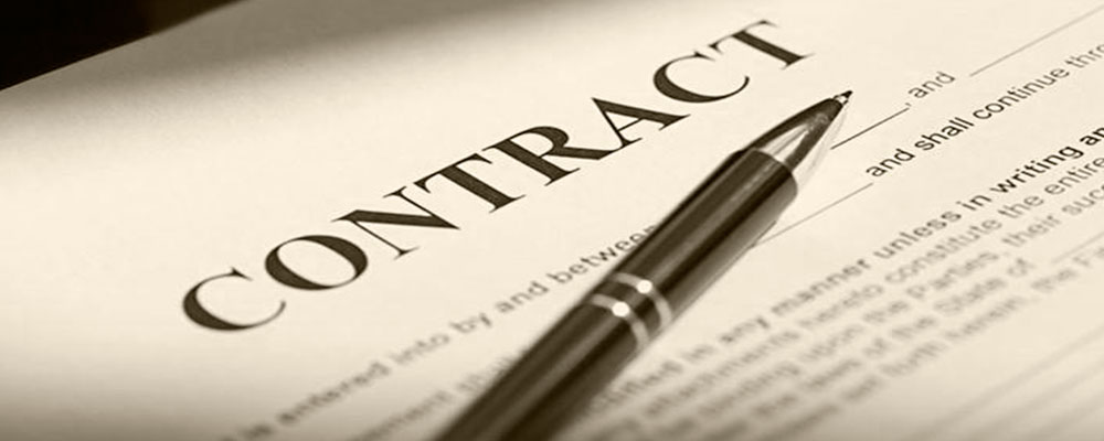 Contract law. Legal support at the stages of conclusion and execution of the contracts
